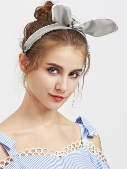 Bow Embellished Headband