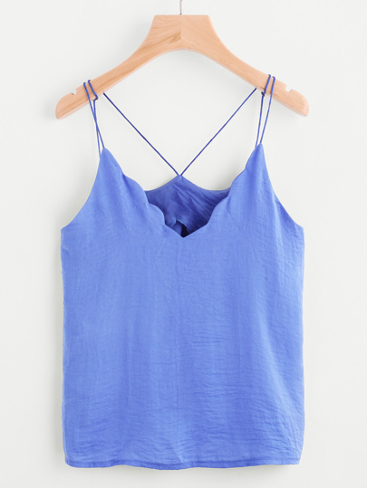 Chevron Trim Cami Top