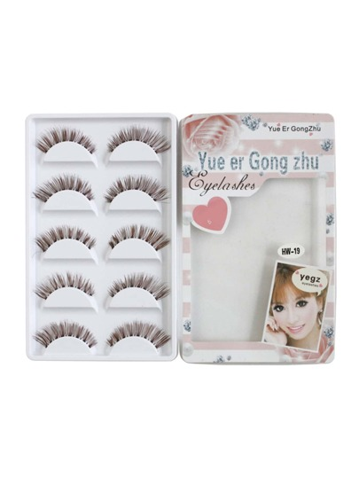 False Eyelashes Set 5 Pair