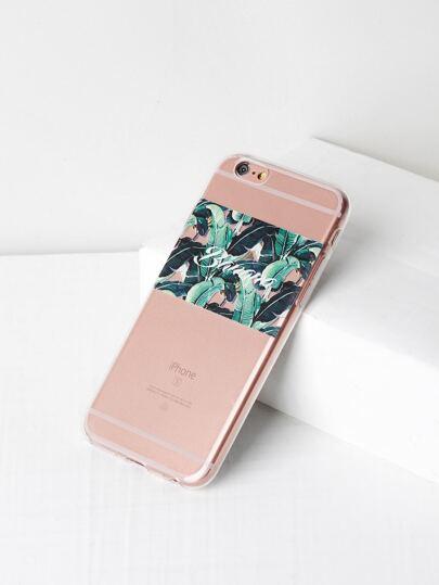 Funda para iPhone 6/6s con estampado de selva