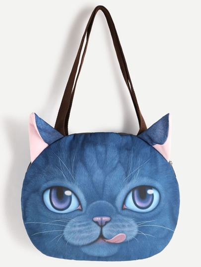 Cat Shaped Cute Shoulder Bag