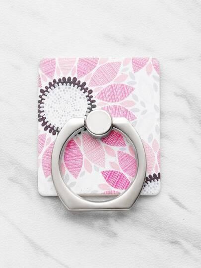 Soporte de móvil con estampado con anillo