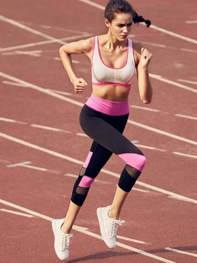 Leggings color-block en cellular