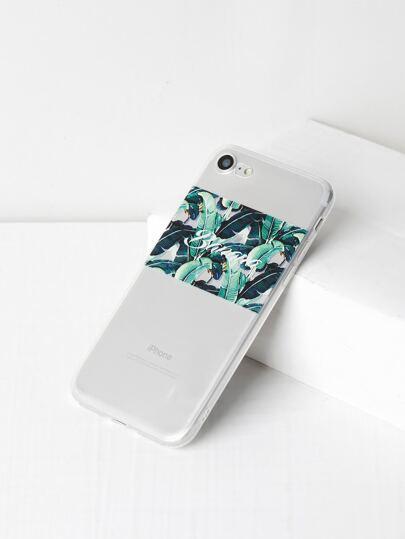 Funda para iPhone 7 con estampado de selva