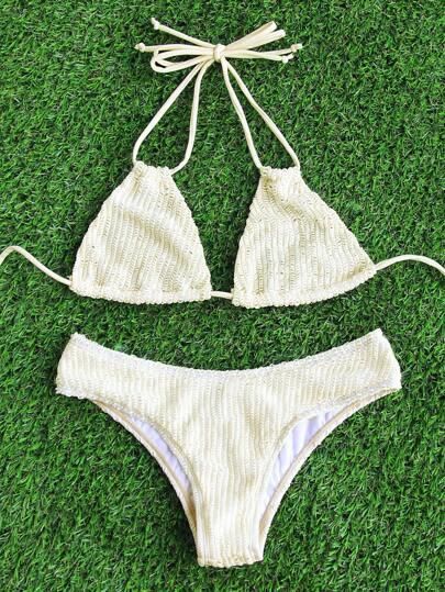 Halter Sexy Bikini Set