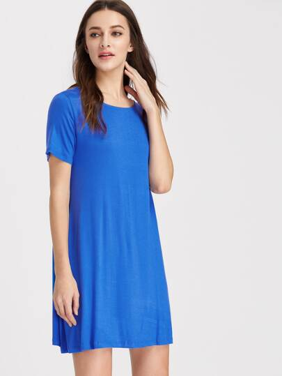 Short Sleeve Tee Dress