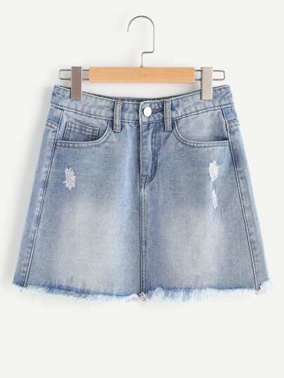 Mini Denim Rock