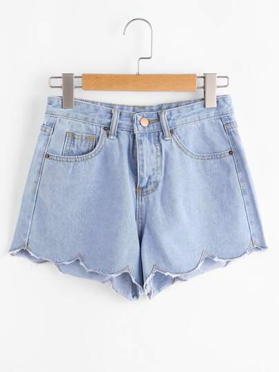 Shorts en denim