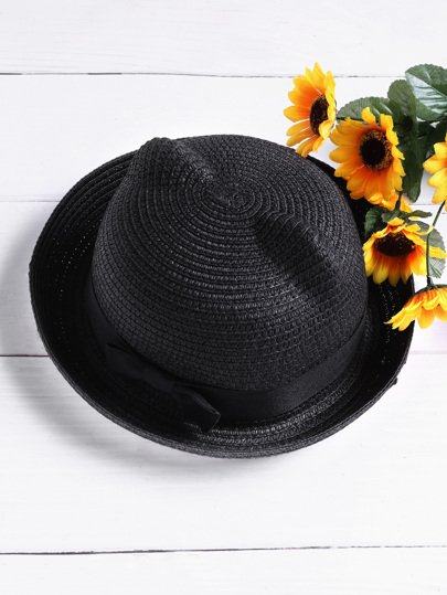 Cappello di paglia con Orecchi di gatto