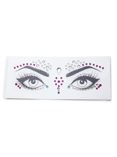 Makeup Eye Rhinestone Sticker