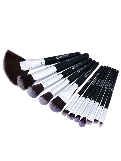 Fan geformte professionelle Make-up Pinsel 12pcs