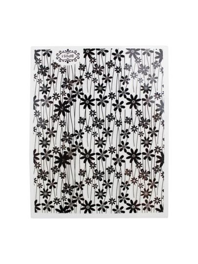 Calico Pattern Nail Art Stickers