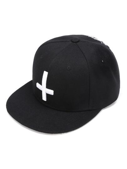 Cappellino con medello grafico