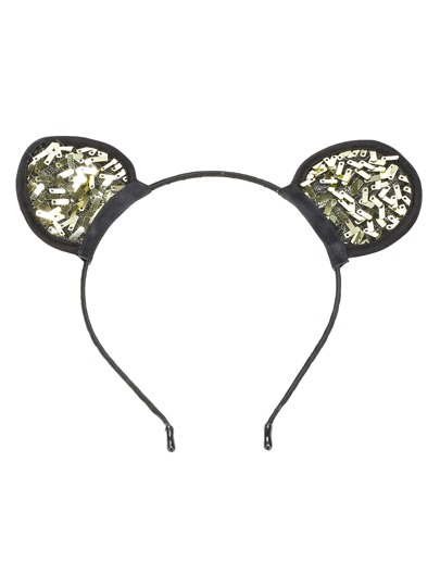 Metallic Cute Ear Headband
