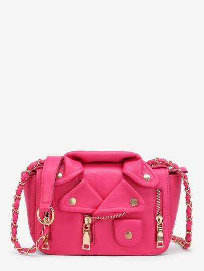 Jacket Shaped Shoulder Bag