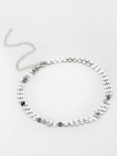 Coin Fringe Delicate Waist Chain