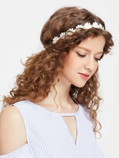 Daisy Hair Garland