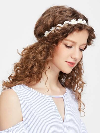 Gänseblümchen Haargirlande