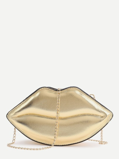 Lips Shape Chain Shoulder Bag