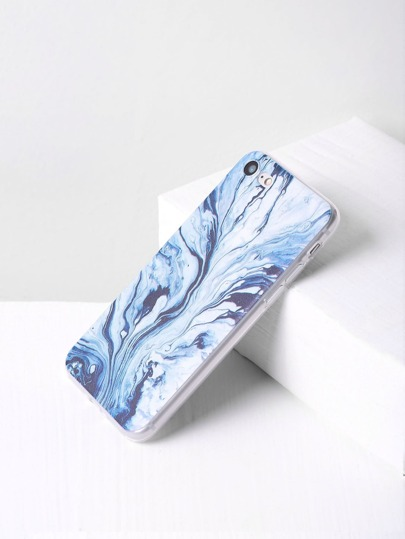 Water Wave Print iPhone 7 Case