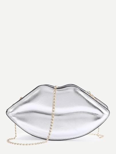 Lips Shape Chain Shoulder Bag