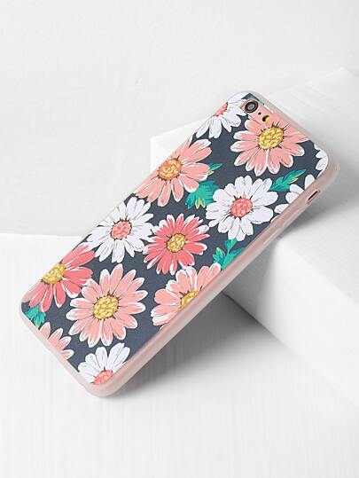 iPhone 6 Plus/6s Plus Case mit Gänseblümchenmuster