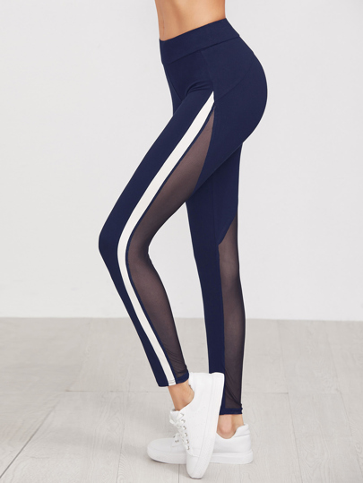 Leggings à rayures