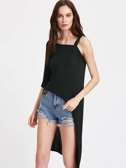 One-Shoulder Asymmetrical Top