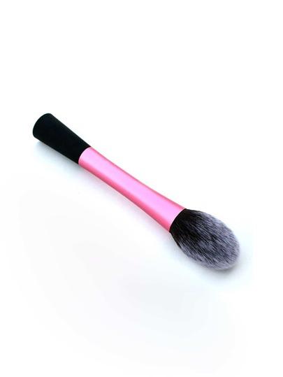 Brosse de maquillage contrasté poignée