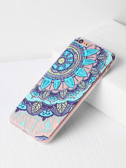 Mandala Print Case iPhone 6 Plus/6s Plus Case
