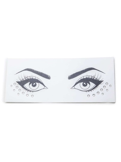 Acrylic Crystals Eye Stickers