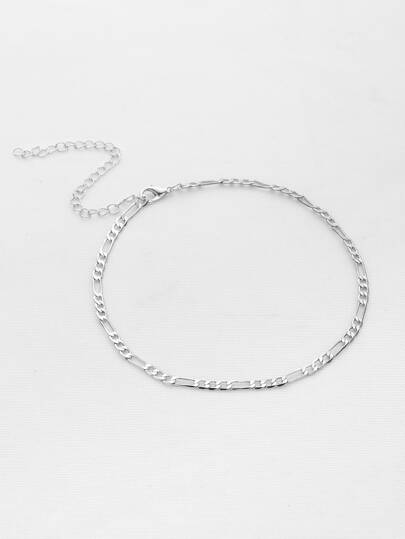 Simple Plated Chain Choker