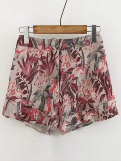 Floral Loose Short