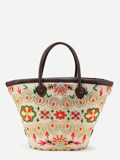 Maxi borsa in paglia
