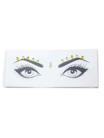Eye Rhinestone Sticker