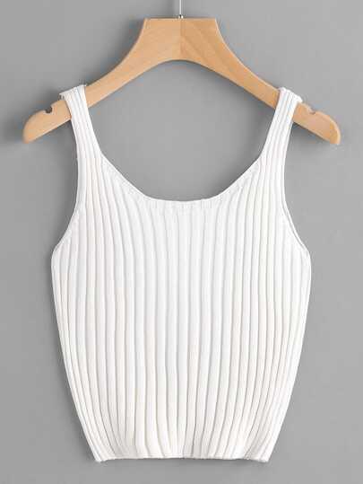Débardeur en tricot