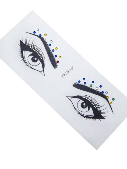 Makeup Eye Rhinestone