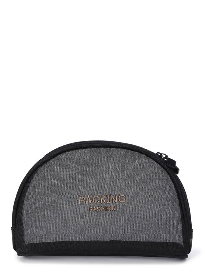 Mesh Design Sac de maquillage