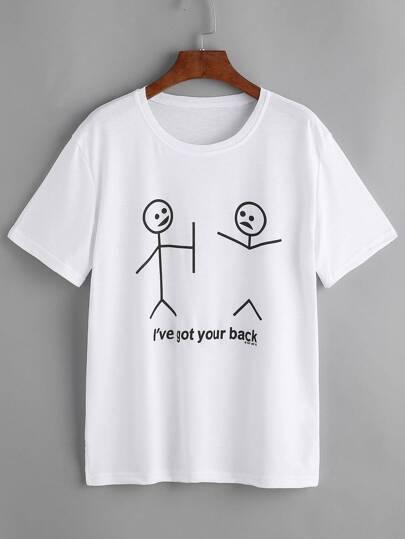 Tee-shirt imprimé graphique