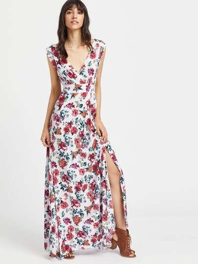 Japanische Quer Kleid Ärmel mit Öffnung und zurück Zu