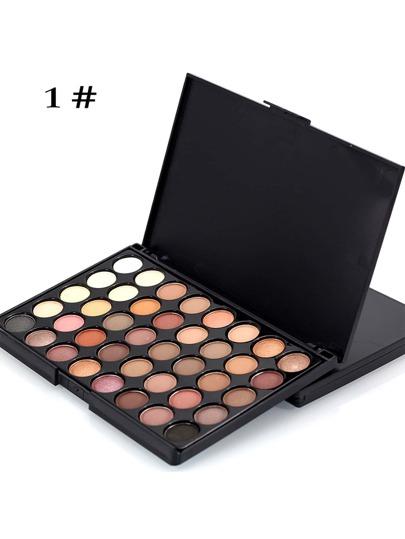 لوحة المكياج  لظلال عيون 40 ألوان