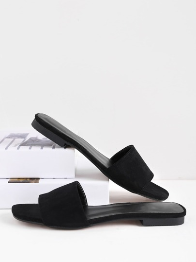 Open Toe Slide Sandals