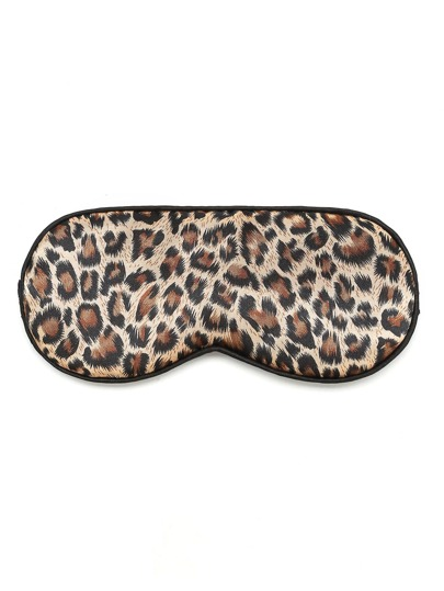 Leopard Pattern Sleep Eye Mask