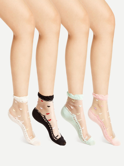 Модные носки 4 шт.