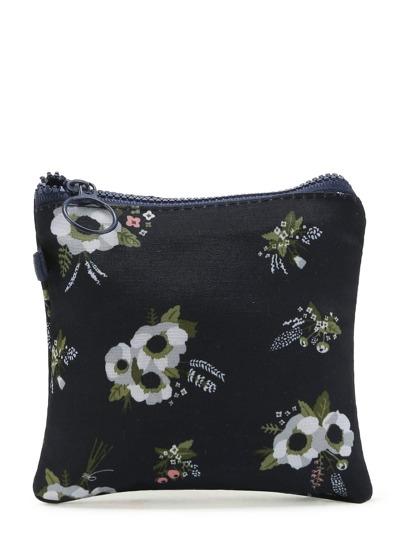 Модная мини сумочка с цветочным принтом