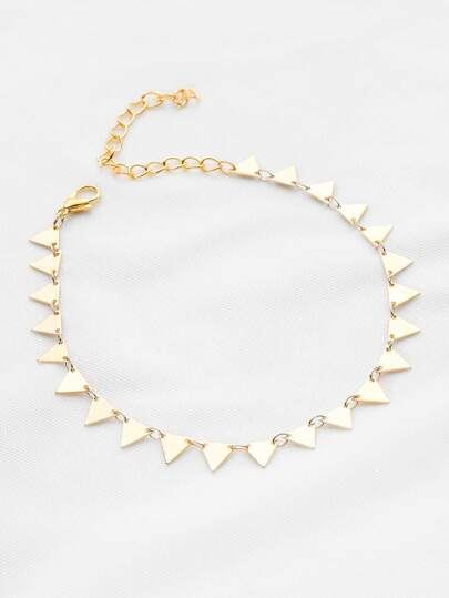Geometric Triangle Bracelet