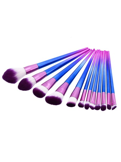 Ombre Cosmetic Brush Set 12pcs