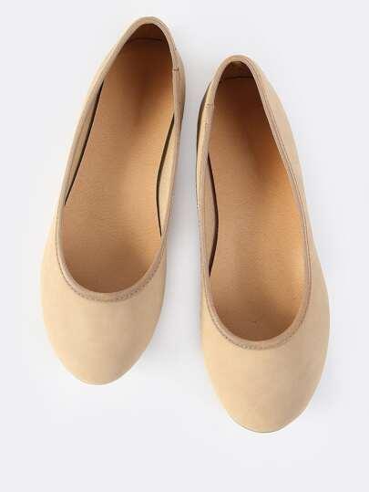 Classic Ballet Flats NATURAL