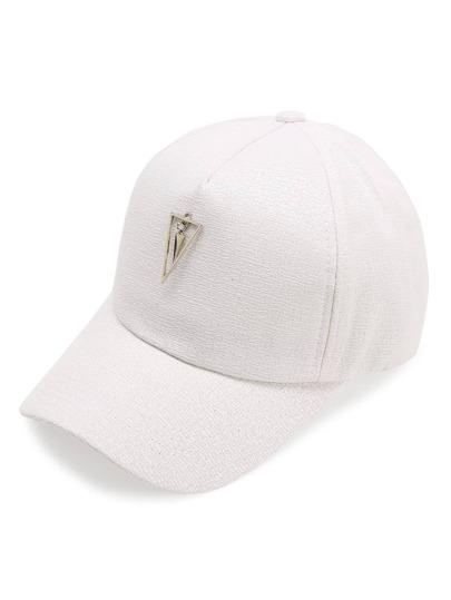 Cappellino con abbellito di triangolo