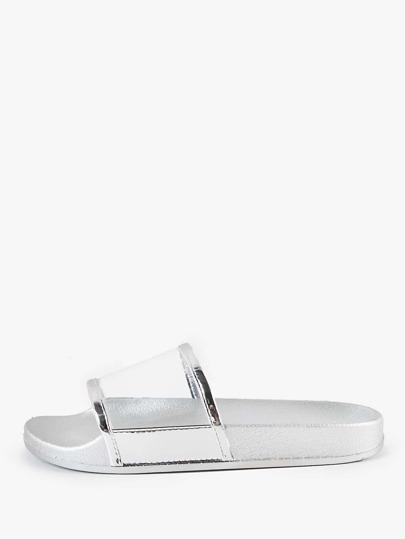 Sandalias metálicas